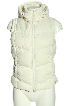 edc by Esprit Gilet en duvet blanc motif de courtepointe style décontracté