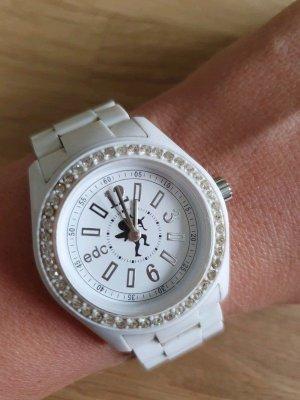 Edc by Esprit Disco Glam Damenuhr - Armbanduhr weiß