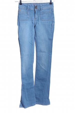 edc by Esprit Five-Pocket-Hose blau Casual-Look