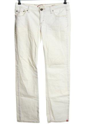 edc by Esprit Pantalón de cinco bolsillos blanco look casual