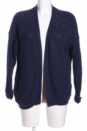 edc by Esprit Häkel Cardigan blau Business-Look