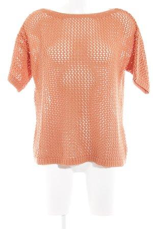edc by Esprit Gehaakt shirt abrikoos losjes gebreid patroon