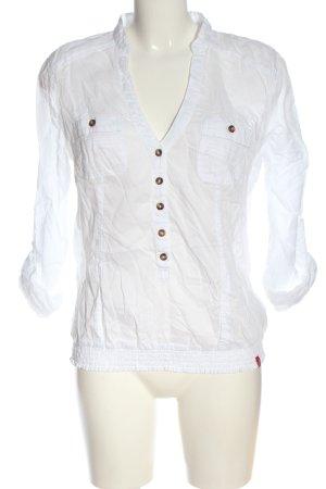 edc by Esprit Blusa-camisa blanco elegante