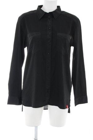 edc by Esprit Blusa-camisa negro estilo «business»