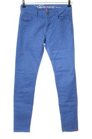 edc by Esprit High-Waist Hose blau Casual-Look