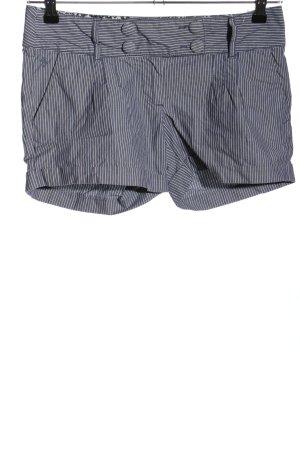edc by Esprit Hot Pants blau Streifenmuster Casual-Look