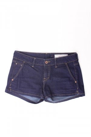 edc by Esprit Hotpants Größe W26 blau aus Baumwolle