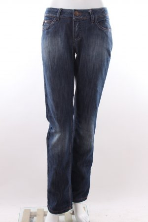 edc by Esprit Hüft-Jeans dunkelblau