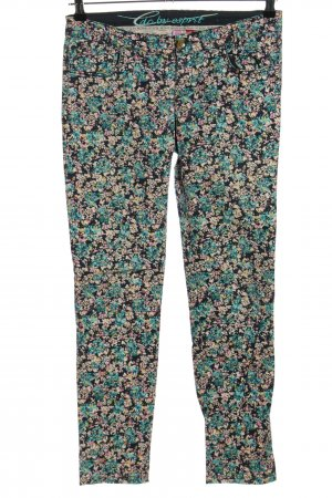edc by Esprit Low-Rise Trousers allover print casual look