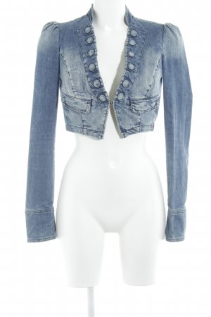 edc by Esprit Jeansblazer stahlblau extravaganter Stil