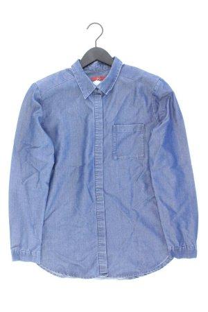 edc by Esprit Blouse en jean bleu-bleu fluo-bleu foncé-bleu azur lyocell