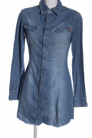 edc by Esprit Jeansjurk blauw casual uitstraling