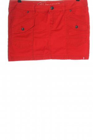 edc by Esprit Jeansrock rot Casual-Look