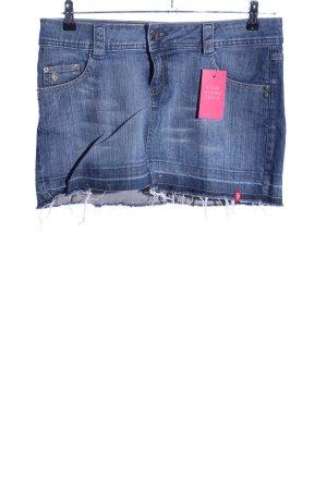 edc by Esprit Gonna di jeans blu stile casual