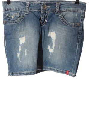 edc by Esprit Jeansrock blau Street-Fashion-Look