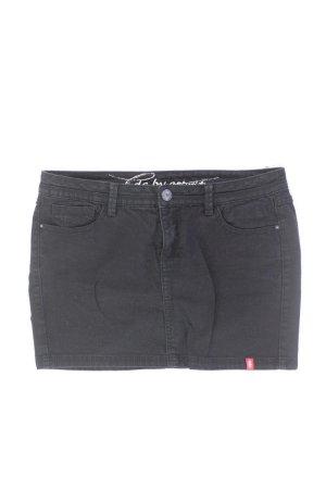 edc by Esprit Jeansrock Größe 38 schwarz aus Baumwolle