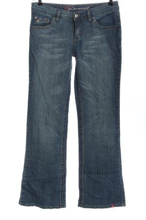 edc by Esprit Jeans a zampa d'elefante blu stile casual