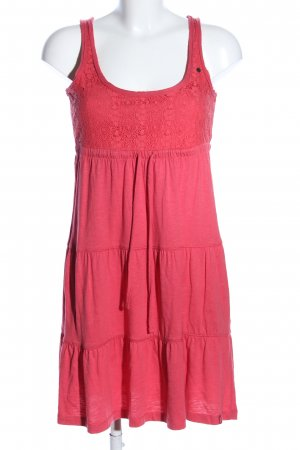 edc by Esprit Jerseykleid rot Casual-Look