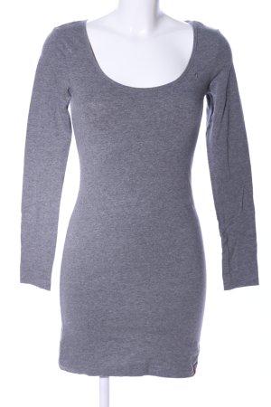 edc by Esprit Vestido de tela de jersey gris claro moteado look casual