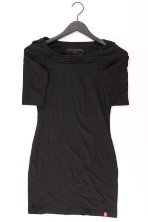 edc by Esprit Jerseykleid Größe 32 Kurzarm schwarz aus Viskose