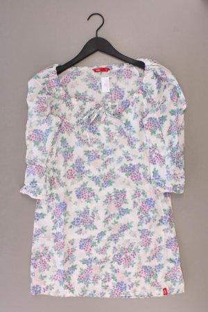 edc by Esprit Jerseykleid Größe 34 mit Blumenmuster 3/4 Ärmel mehrfarbig