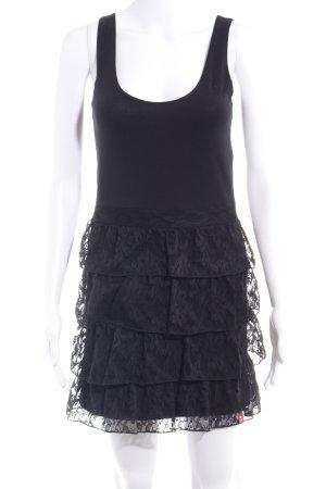 edc by Esprit Vestido de tela de jersey negro look casual