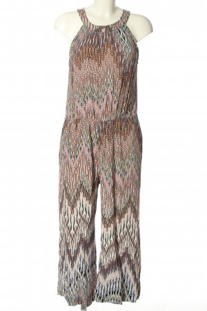 edc by Esprit Jumpsuit Allover-Druck Casual-Look