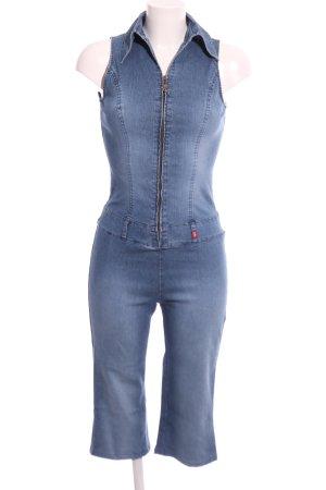 edc by Esprit Jumpsuit blau Casual-Look