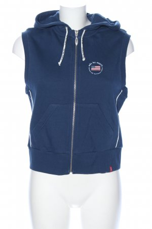 edc by Esprit Hooded Vest blue casual look