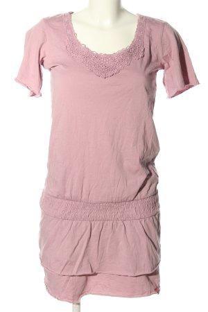 edc by Esprit Kurzarmkleid pink Casual-Look