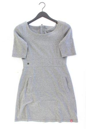 edc by Esprit Kurzarmkleid Größe S grau aus Baumwolle