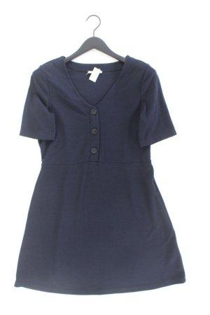 edc by Esprit Kurzarmkleid Größe XL blau aus Polyester