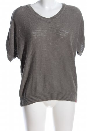 edc by Esprit Short Sleeve Sweater light grey business style