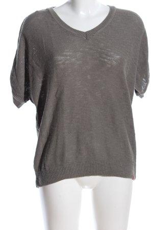edc by Esprit Maglione a maniche corte grigio chiaro stile casual