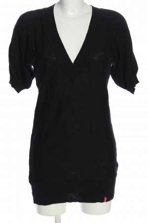 edc by Esprit Short Sleeve Sweater black casual look