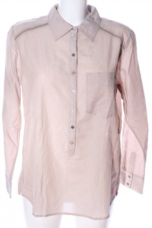 edc by Esprit Langarm-Bluse pink Streifenmuster Casual-Look