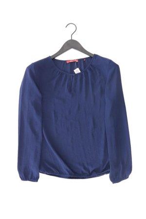 edc by Esprit Langarmbluse Größe XS blau aus Polyester