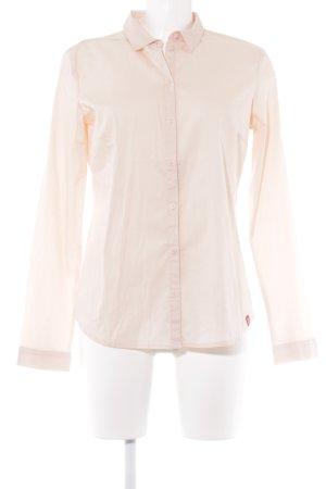 edc by Esprit Chemise à manches longues rosé style décontracté