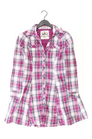 edc by Esprit Langarmkleid Größe 36 kariert pink aus Baumwolle
