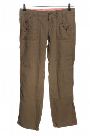 edc by Esprit Leinenhose braun Casual-Look