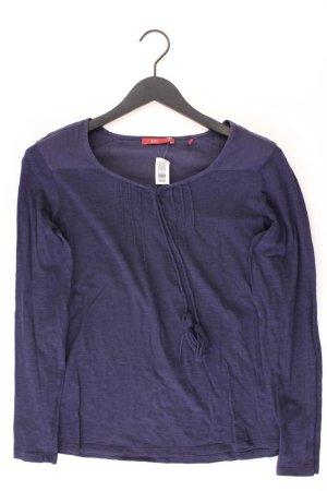 edc by Esprit Longsleeve-Shirt Größe 38 Langarm blau