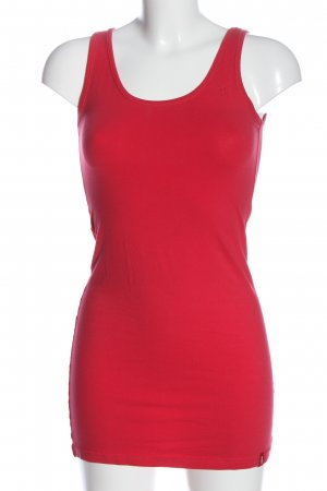 edc by Esprit Top lungo rosso stile casual