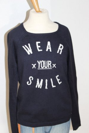 """EDC by Esprit maritimer Pullover Gr. XS """"Wear your smile"""""""
