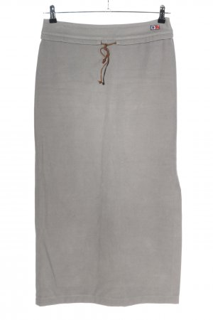 edc by Esprit Maxi Skirt light grey casual look
