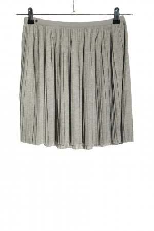 edc by Esprit Pleated Skirt light grey flecked casual look