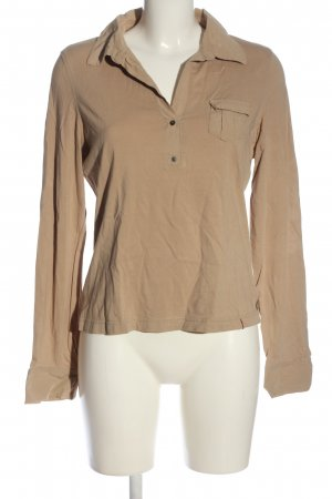 edc by Esprit Polo-Shirt goldfarben Casual-Look
