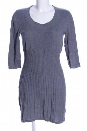 edc by Esprit Sweater Dress blue flecked casual look