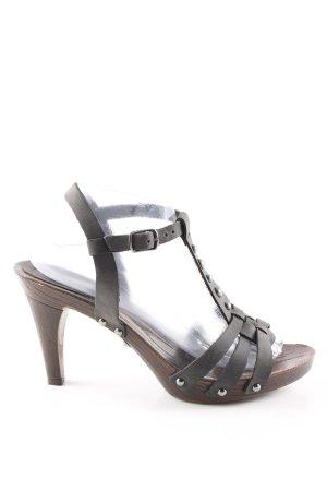 edc by Esprit Riemchen-Sandaletten braun Casual-Look