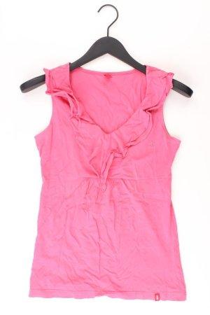 edc by Esprit Rüschentop Größe M pink aus Baumwolle