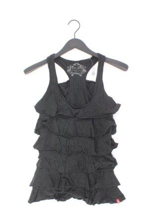 edc by Esprit Frill Top black cotton